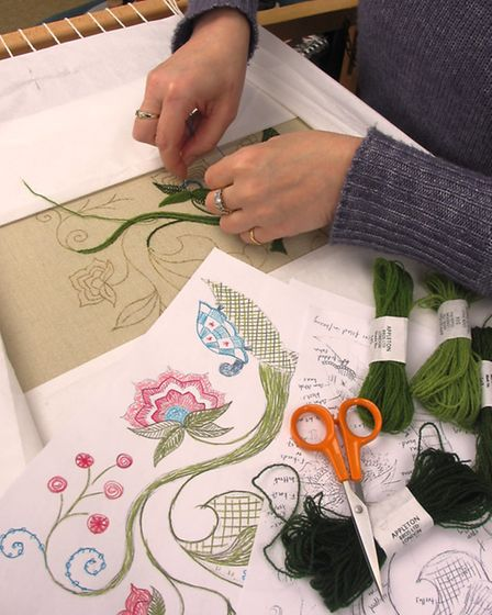 Crewelwork at RSN