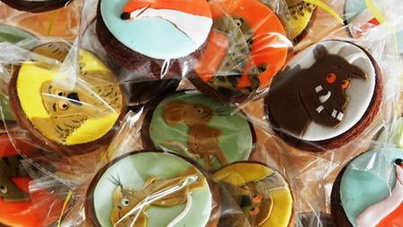 Gruffalo Cookies, from £2 each, Frizelle Cakes, Chichester 07729 457860; www.frizellecakes.com