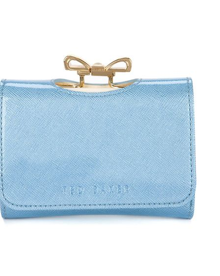 TAKE A BOW This Fellowes mini-bag, £129 from Ted Baker, is just gorgeous. Altogether now: For hes a
