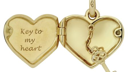 LOCK IT If you dont like this heart locket charm, £550 from Links of London, well marry him instead