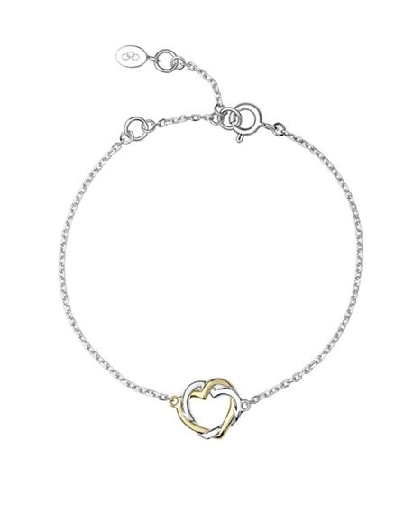 TWOS COMPANY Twin entwined hearts? This Kindred Souls bracelet, £160 from Links of London, is hardl