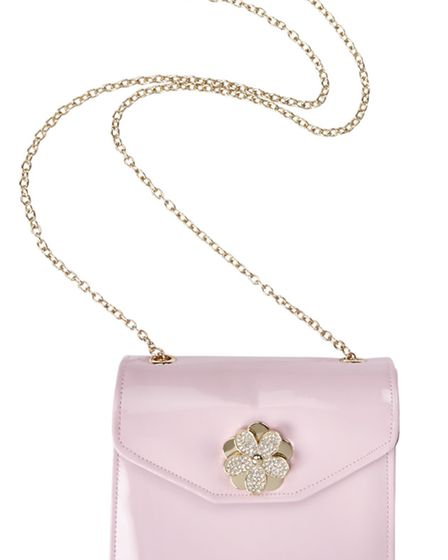 ALL YOU NEED IS LOVE Dont get cross if he doesnt buy you this Love Moschino cross-body bag, £120 fr