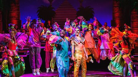 The cast of Joseph and the Amazing Technicolor Dreamcoat / Photo: Darren Bell