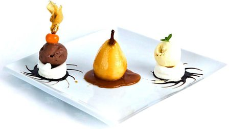 Food at My Great Grandfather's Restaurant