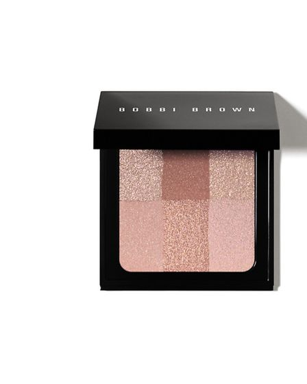 Lit from within The Brightening Brick by Bobbi Brown combines the warmth of a bronzer and the soft