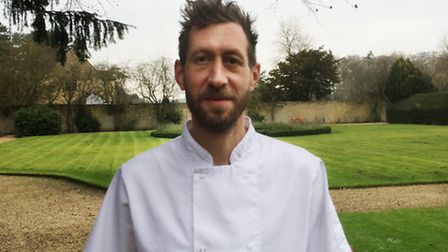 Nik Chappell, head chef at Lower Slaughter Manor
