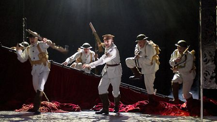 Oh What A Lovely War production by Theatre Royal Stratford East will run at Malvern Theatres from Fe