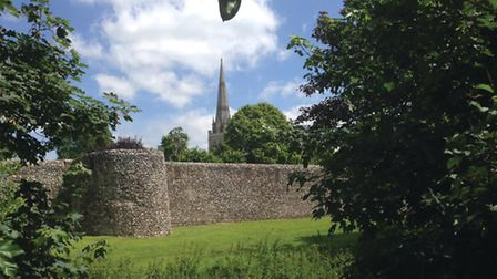 Chichester Cathedral from the south west