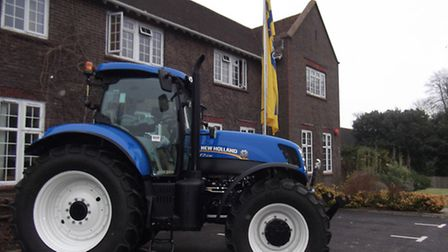 New Holland T7 series at Plumpton College