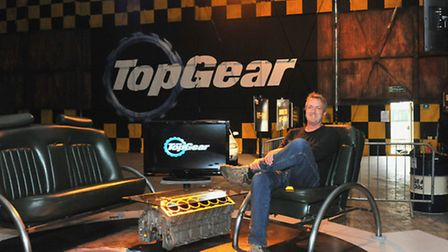 Pete takes over Jeremy Clarkson's hot seat