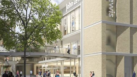 Oxford's Westgate retail development