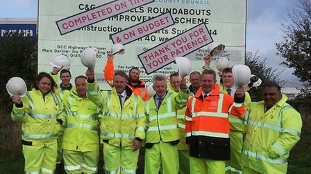 C&G roundabout completion
