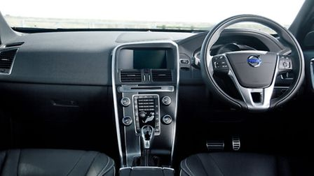 The sleek interior of the new model