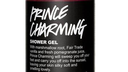 Dont you ever From those purveyors of all things natural comes Prince Charming, a shower gel to kee
