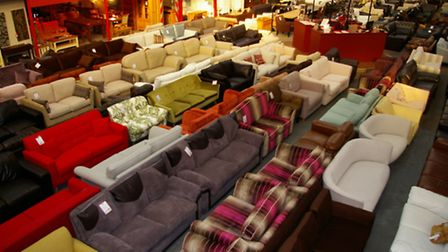 Stocked with discount furniture, available to take away the same day as purchased