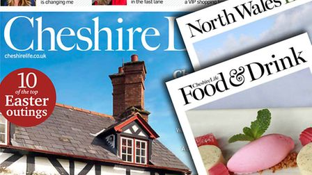 A look inside the April 2015 issue of Cheshire Life