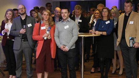 Businesses from across Devon came to the launch