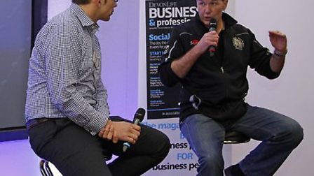 Rob Baxter is interviewed by Chris Bentley