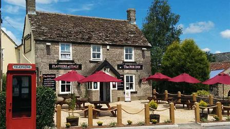 The Fox Inn, which will be hosting the Hawkesbury Upton Literature Festival