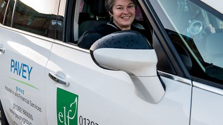 The ELF community transport service, sponsored by The Pavey Group