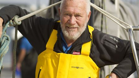 Sir Robin Knox-Johnston. This image is copyright the onEdition 2014©