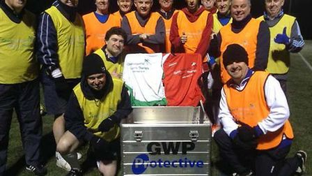 Wiltshire GWP Protective steps out for walking football