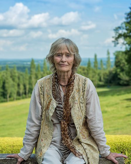 Virginia, pictured here in the garden of her home in the Surrey Hills, is a passionate supporter of