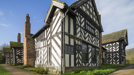 The North and East Ranges of Little Moreton Hall c National Trust Images & Paul Harrison