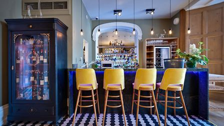 Picture perfect: The bar at The Art School, Liverpool city centre