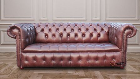 Chesterfield 3-seater settee