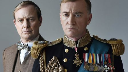 Jason Donovan (Lionel Logue) and Raymond Coulthard (King George VI)
