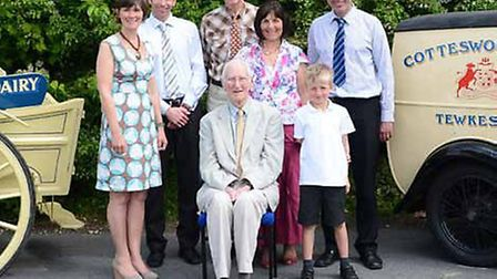 Family Business of the Year, Gloucestershire winner 2014: Cotteswold Dairy