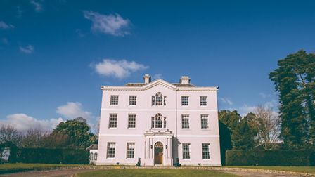 Bridwell's impressive, classic Georgian facade, which dates back to the 1700s