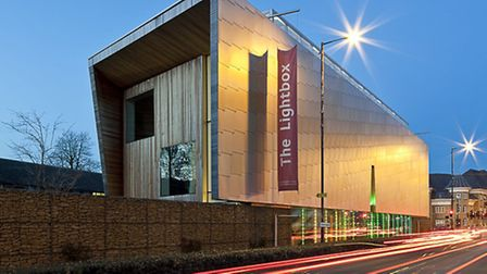 The award-winning Lightbox gallery and museum from Victoria Way (Photo: Ian Rudgewick Brown)
