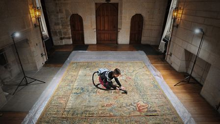 Tapestries at Castle Drogo