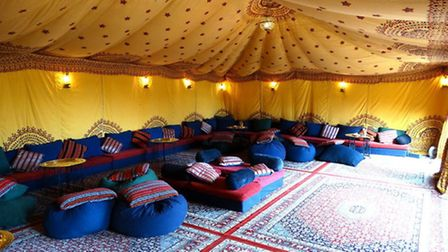 Oasis Events specialises in Middle Eastern style events