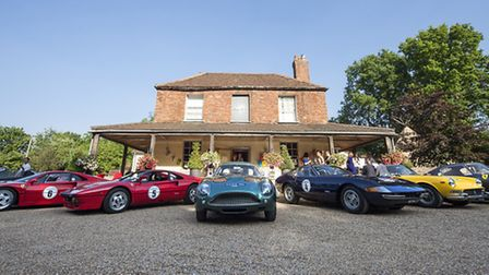 Supercars at The Mulberry, Chiddingfold (Photo: Bumble and Brown)