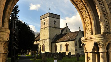 St Michael's Church was famously used in the film Four Weddings and a Funeral