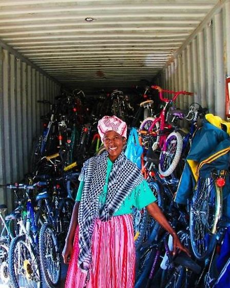 In Zambia, bikes can transform lives
