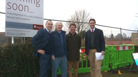 Newland and Councillers at Andoversford Cattle