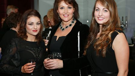 Rachael Settle with Karen Brodie and Laura Evans