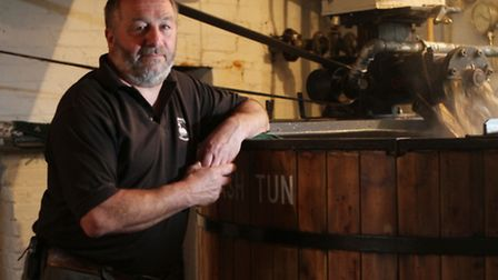 Head brewer Phil Janke from Donnington Brewery
