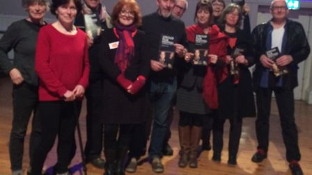 Stroud Film Festival organisers after the last film of the event