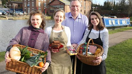 Katie Lyttle, host of The Chester Food Assembly with some of the members