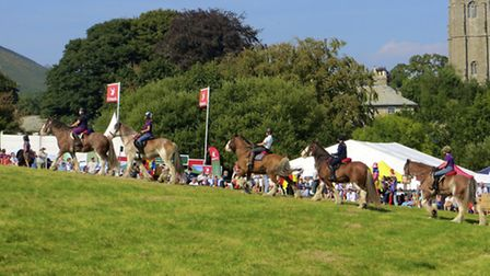 Dropping in on Widecombe Fair