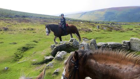 The ride was a marvellous way to see Dartmoor