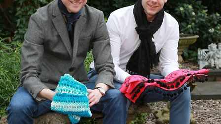 Ethical Clothing Co with Dave Chorlton (left) and Sam Edwards at Congleton