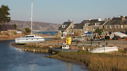Abersoch Harbour and River Soch