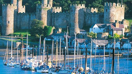 Conwy Castle photo courtesy of Visit Wales