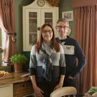 Wendy and Julian, who began his own business Appletree Interiors and has worked hard to double the s